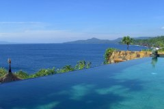 Infinity Pool der Sea Villa in Shunyata Villas Bali