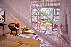 Junior Suite 4 Wohnbereich der Ayurveda Shunyata Villa