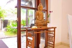 Schöner Buddha im Ayurveda Restaurant