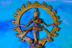 Singalesiche Tänzerin im Ayurveda Bereich
