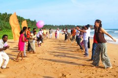 Das Team der Ayurveda Shunyata Villa ~ Sri Lanka