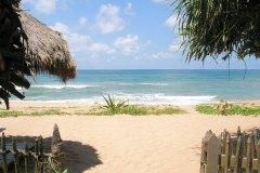 Blick zum Meer aus dem Ayurveda Resort