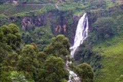 Wasserfälle im Inland von Sri Lanka